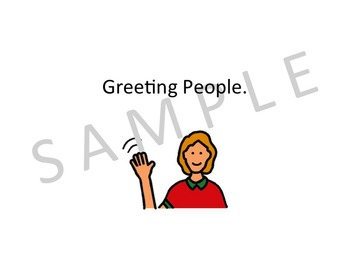 Greeting People Social Story