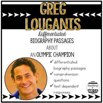 Greg Louganis: Differentiated Biography Passages & Reading