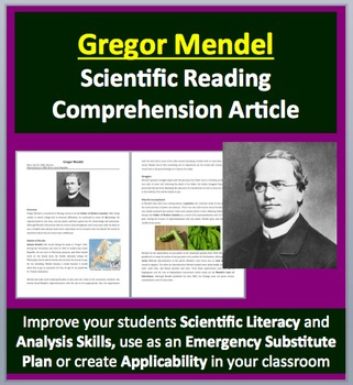 Gregor Mendel - The Father of Genetics - A Famous Scientis
