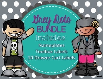 Grey Dots Organization BUNDLE!