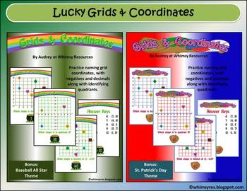 Grids & Coordinates Baseball St. Patrick