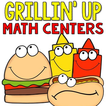 Grillin' Up Math Centers