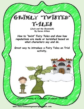 "Grimly ""Twisted"" Tales - Jack and the Beanstalk"