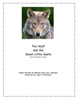 Grimm's Fairy Tales:  The Wolf and the Seven Little Goats