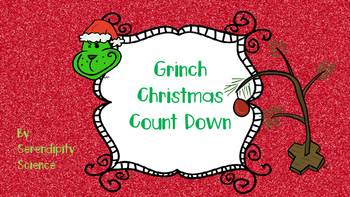 Grinch Christmas Countdown