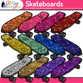 Skateboard Clip Art - Sports Equipment Clip Art - Physical