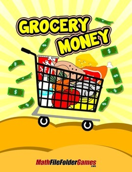 Grocery Money {Mental Math Activity}