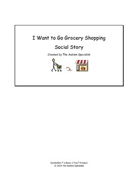 Grocery Shopping Social Story