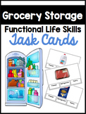 Grocery Storage Functional Sorting Tasks