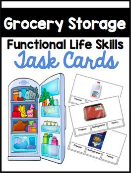 Grocery Storage Functional Sorting Tasks
