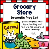 Grocery Store Dramatic Play Set