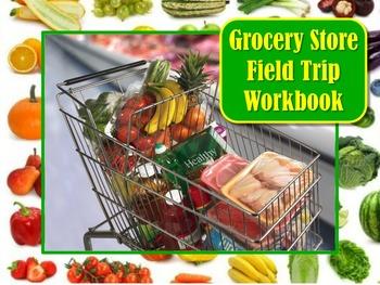 Grocery Store Super Market Field Trip Booklet Workbook Use