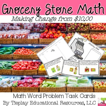 Grocery Store Math: Change From $10.00