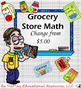 Grocery Store Math Bundle