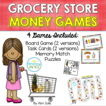 Grocery Store Money Games