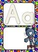 A Groovy Cat: Groovy Alphabet Mats