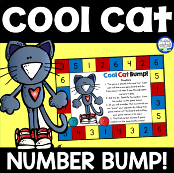 Groovy Cat Bump! Number Recognition Game