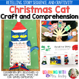Groovy Christmas Cat - Craftivity and Craft Stick Puppets