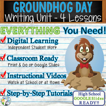 Groundhog Day Writing BUNDLE! - Argumentative, Persuasive,