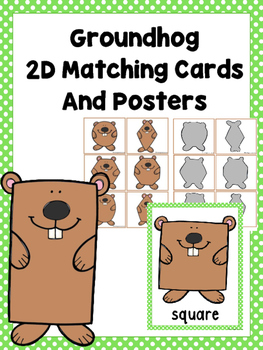 Groundhog 2D Matching Cards and Posters