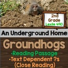 Groundhog Close Reading- Informational Text and Text-Based Activities