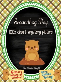 Groundhog Day 100s Chart Mystery Picture