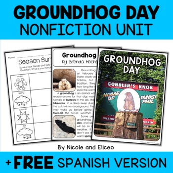Nonfiction Groundhog Day Unit Activities