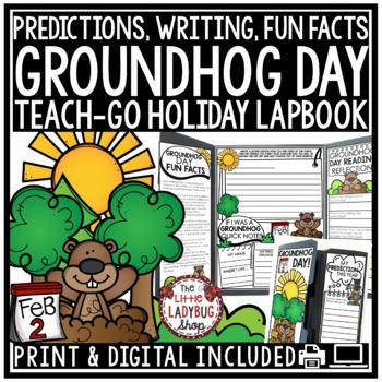Groundhog Day Activity • Groundhog Day Lapbook