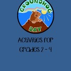 Groundhog Day Activities for Grades 2 - 4