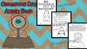 Groundhog Day Activity Booklet