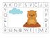 Groundhog Day Alphabet Match Boards