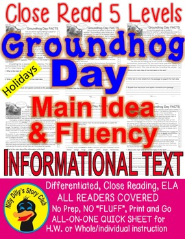 Groundhog Day FACTS Differentiated 5 Level Passages ALL-RE