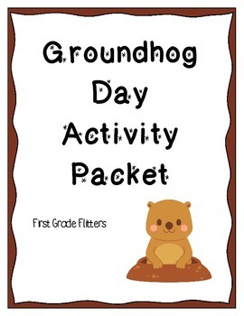Groundhog Day Graphing and Writing Activity