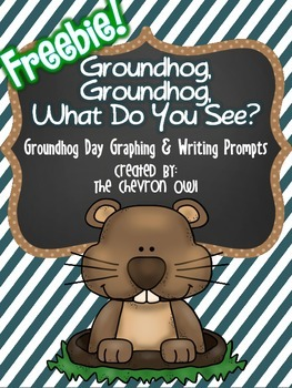 Groundhog Day Graphing and Writing Prompt Freebie