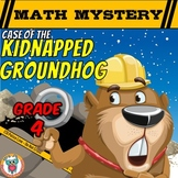 Groundhog Day Math Mystery Activity  (Grade 4)