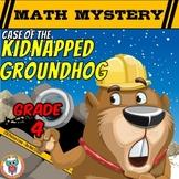Groundhog Day Math Mystery Activity  (Grade 4)