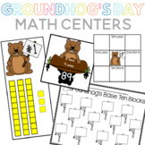 Groundhog Day Math Centers