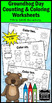 Groundhog Day Counting & Coloring Math Worksheets