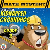 Groundhog Day Math Mystery Activity  (3rd Grade)