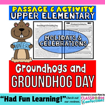 Groundhog Day: Passage and Questions: Reading Comprehensio