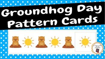 Patterns: Groundhog Day Pattern Cards