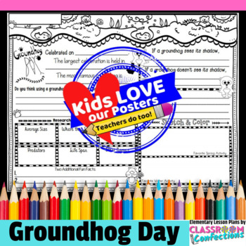 Groundhog Day Activity Poster