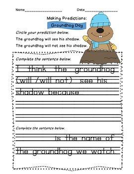 Groundhog Day Predictions