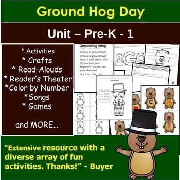 Groundhog Day Preschool Unit
