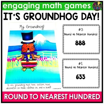 Groundhog Day Round to Nearest Hundred Game