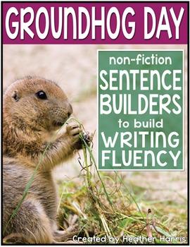 Groundhog Day Sentence Builders