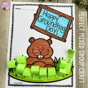 Groundhog Day Speech Therapy Craft