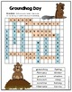 Groundhog Day Word Search - Easy