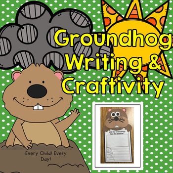 Groundhog Day Writing and Craftivity for Little People