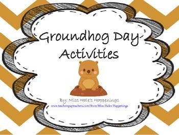 Groundhog Day Writing and Informational Text